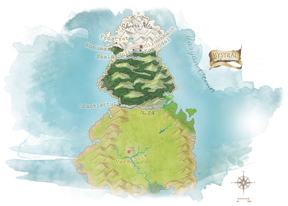 The Map of Mystral